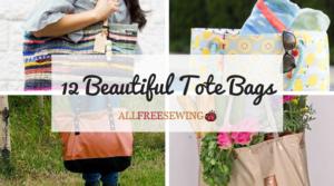 12 Beautiful Tote Bags