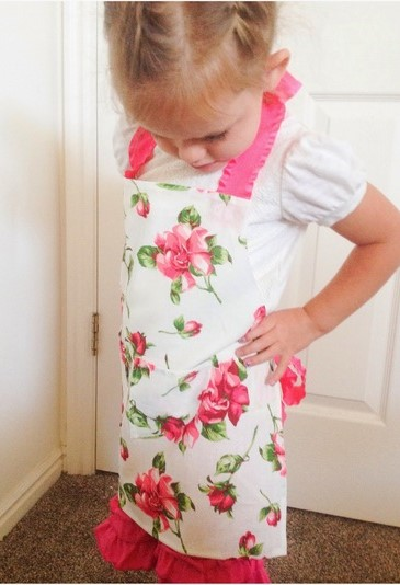 No Sew Aprons for Kids
