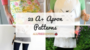 23 A+ Apron Patterns