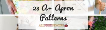23 A+ Apron Patterns