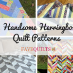 12 Handsome Herringbone Quilt Patterns