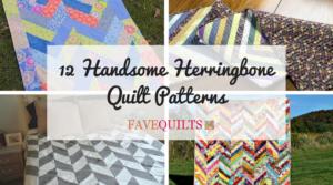 12 Handsome Herringbone Quilt Patterns