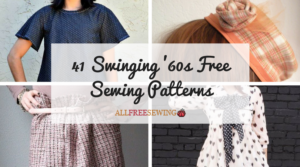 41 Swinging '60s Free Sewing Patterns