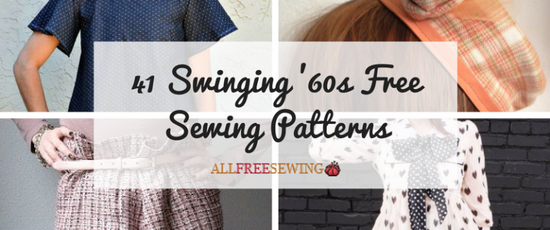 41 Swinging '60s Sewing Patterns