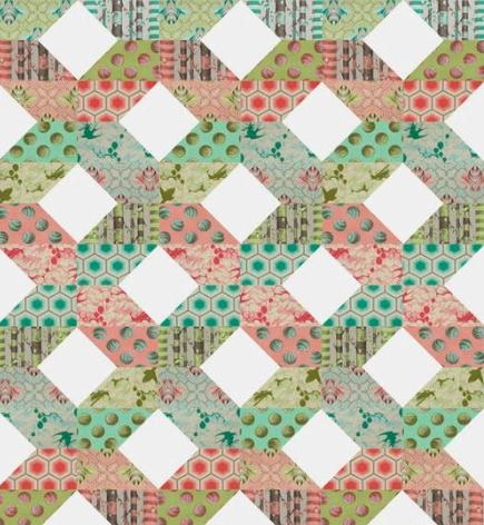 Scandinavian Spring Quilt Pattern