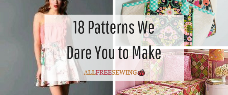 18 Advanced Sewing Patterns We Dare You to Make