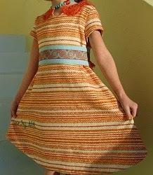 Keyhole Neckline Dress
