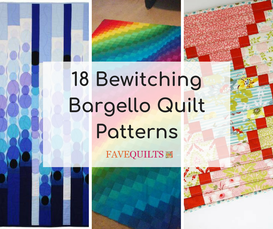 18 Bewitching Bargello Quilt Patterns