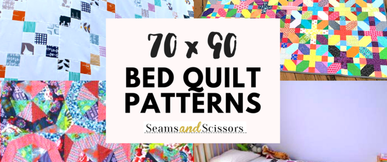 Gorgeous 70 x 90 Bed Quilt Patterns
