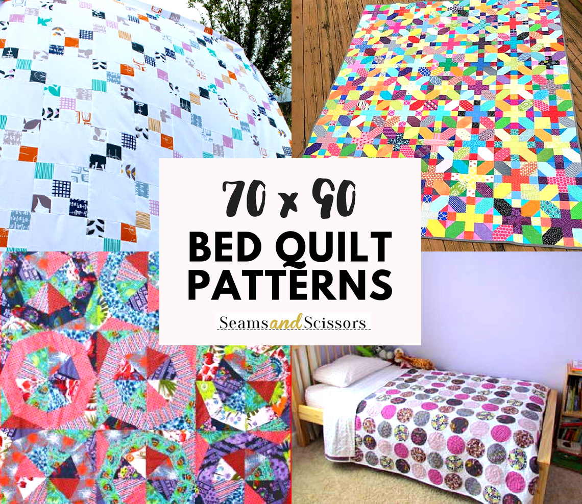 70x90 Bed Quilt Patterns