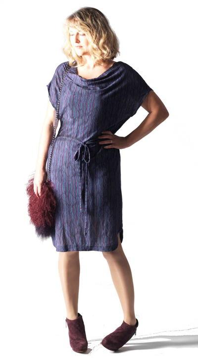 Parisienne Drape Dress Pattern
