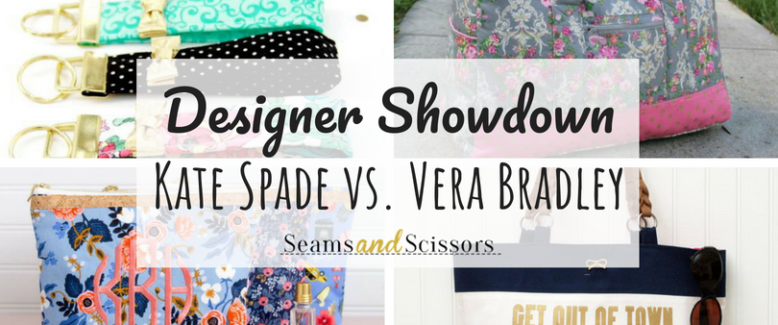 Designer Showdown: Kate Spade and Vera Bradley