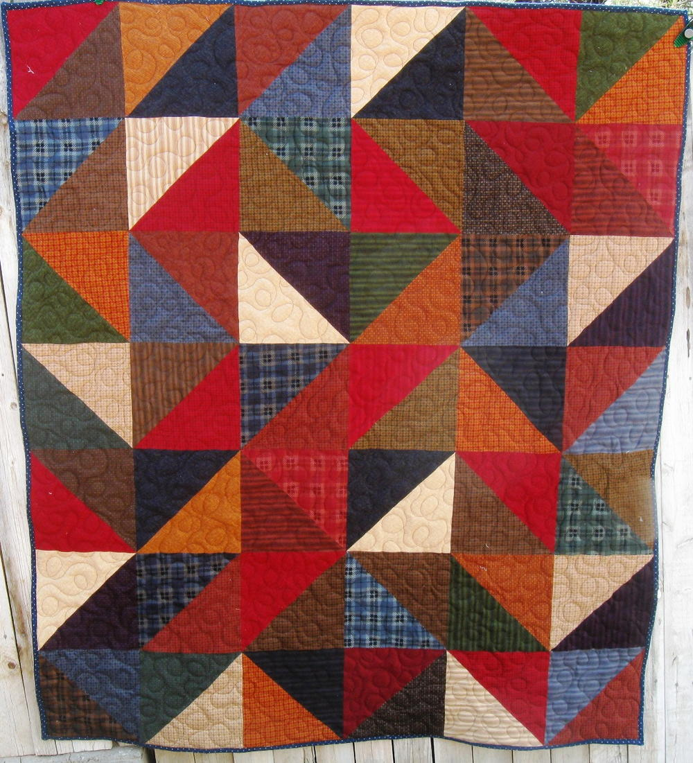 6 Fall Ready Flannel Quilt Patterns Seams And Scissors
