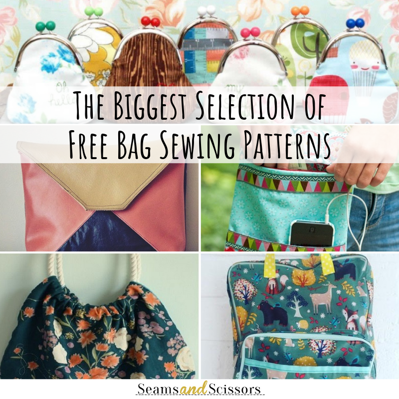 Bigget Selection of Free Bag Sewing Patterns