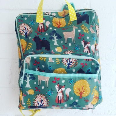 Whimsical Woodlands DIY Backpack