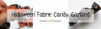 Halloween Fabric Candy Garland